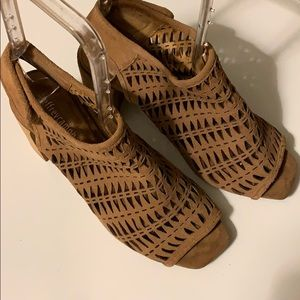 Jeffrey Campbell Taupe Sandals